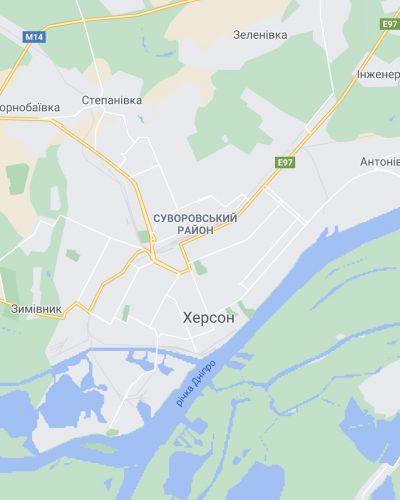 карта херсона